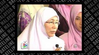 Man in sex video is not Anwar, says Wan Azizah