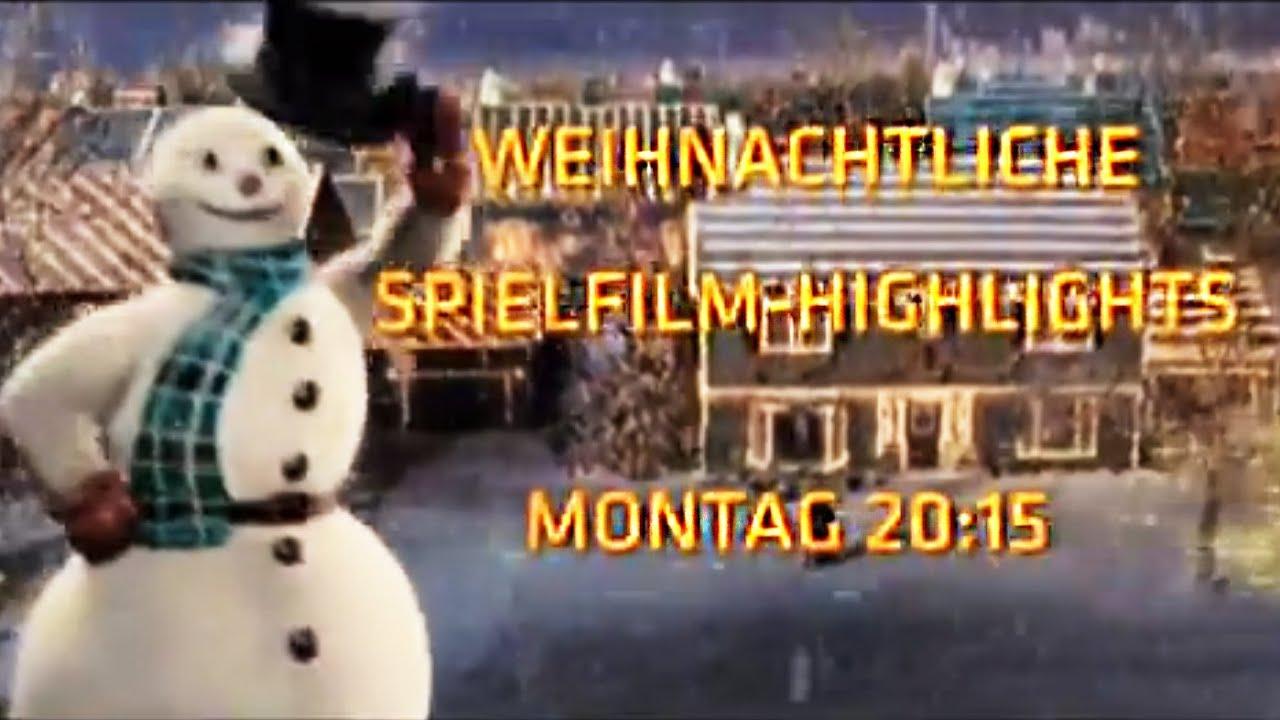 Der Weihnachtsfilme Montag | Ab 02.12. in SAT.1