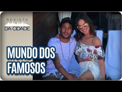 Neymar, Bruna Marquezine e Marcelo Rezende - Revista da Cidade (23/06/2017)