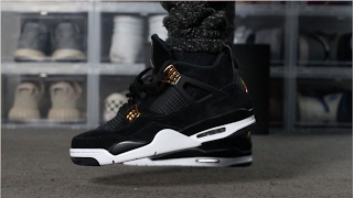 "Jordan 4 ""Royalty"" Unboxing"