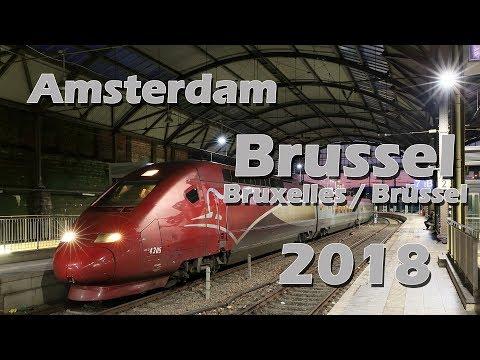 Thalys Amsterdam Brüssel Bruxelles Brussel 2018