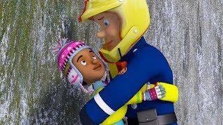 Fireman Sam New Episodes | Sam best Snow Rescues - One Way Street | Big Collection 🚒 🔥 Kids Movies