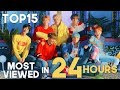 «TOP 15» MOST VIEWED KPOP GROUPS MUSIC VIDEOS IN FIRST 24 HOURS