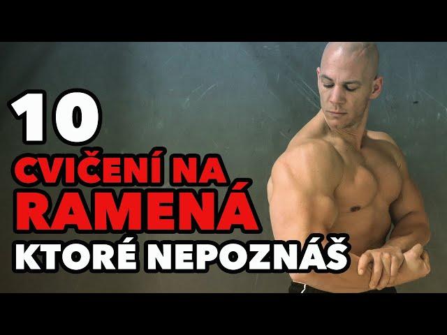 10 cvikov na ramená, ktoré nepoznáš! Menej známe cvičenia na tréning ramien.