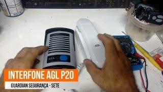 como instalar e configurar interfone p 20 da AGL  passo a passo
