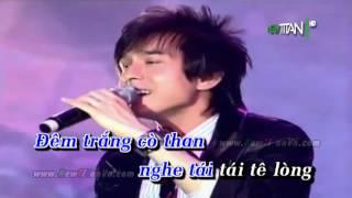 Karaoke Chim trắng mồ côi Đan Trường ft Cẩm Ly Full Beat