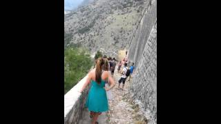 Montenegro down the mountain Thumbnail