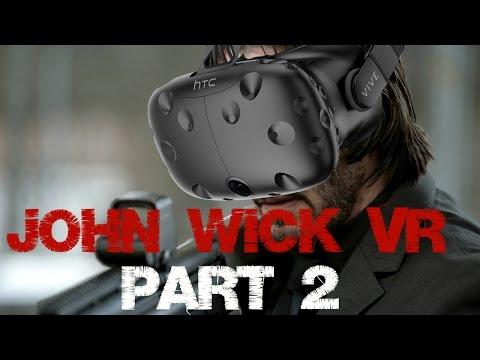 John Wick on hardest difficulty! - John Wick VR - HTC Vive Gameplay - In swedish