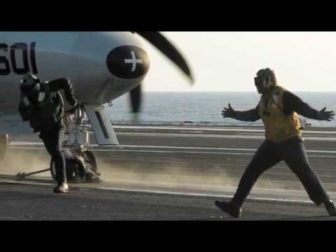 USS George H W Bush (CVN 77 ) Visit: Video & Slideshow