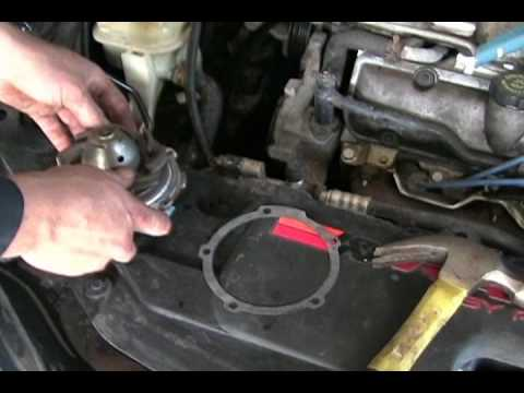 HOW TO replace water pump
