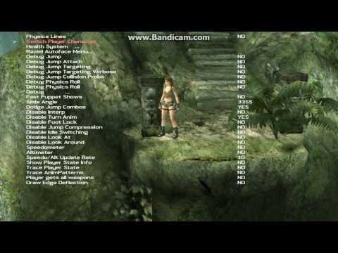 Tomb Raider Legend Unfinished/title Screen Ghana Level