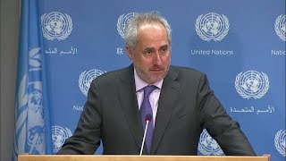 Humanitarian Situation in Yemen & other topics - Daily Briefing (9 November 2017) thumbnail