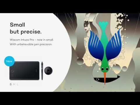 Introducing the new Wacom Intuos Pro Small | Kingfisher : Small but precise