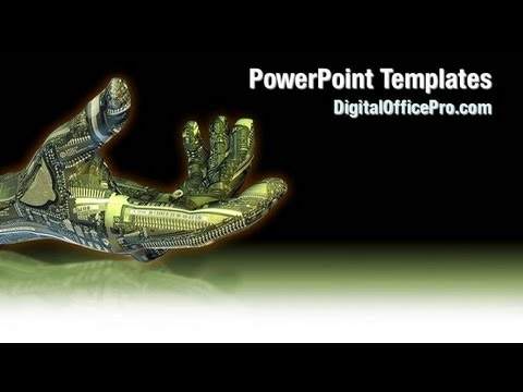 Robotic hand powerpoint template backgrounds digitalofficepro robotic hand powerpoint template backgrounds digitalofficepro 01112w toneelgroepblik Images
