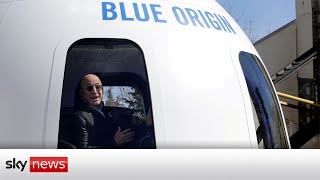 Watch live: Amazon and Blue Origin founder Jeff Bezos launches Blue Shepard to the edge of space