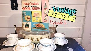 1961 Betty Crocker's New Picture Cook Book Flip Through + Review | Vintage Cookbooks Episode 2