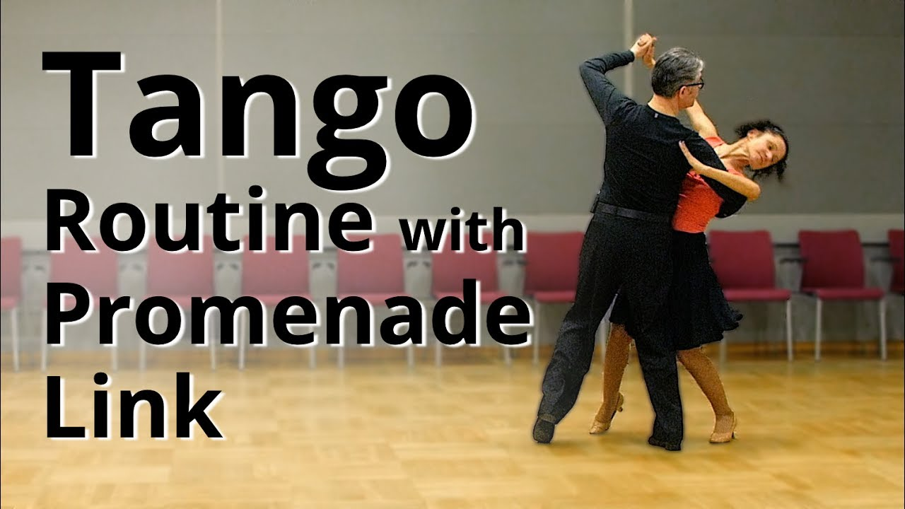 how to dance tango basic routine 1