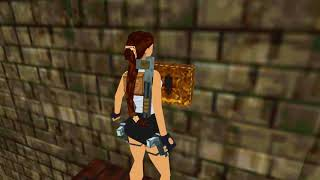 Tomb Raider: Fake Dagger (Niveles de autor). Nivel 8: The Hidden Temple (1/1)