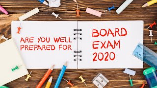 Are You Well Prepared For Board Exam  | Exam Tips For Students | Letstute