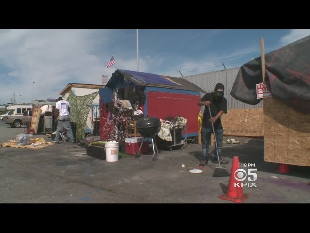San Francisco Officials Oppose Non-Profit's Plan To Build Shanties For Homeless