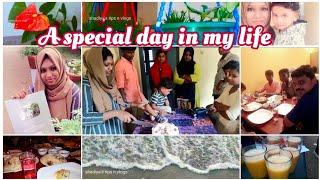 A Special day in my life  എന്റെ ജീവിതത്തിലെ ഒരു പ്രധാന ദിവസം  Shadiya's tips n vlogs