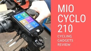 One of the Best Bicycle Computers for Experienced Cyclists in 2018 - Mio Cyclo 210 Review
