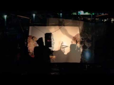 Shadow Light Wayang Bali Theater (Shot in HD, displayed in 480p)