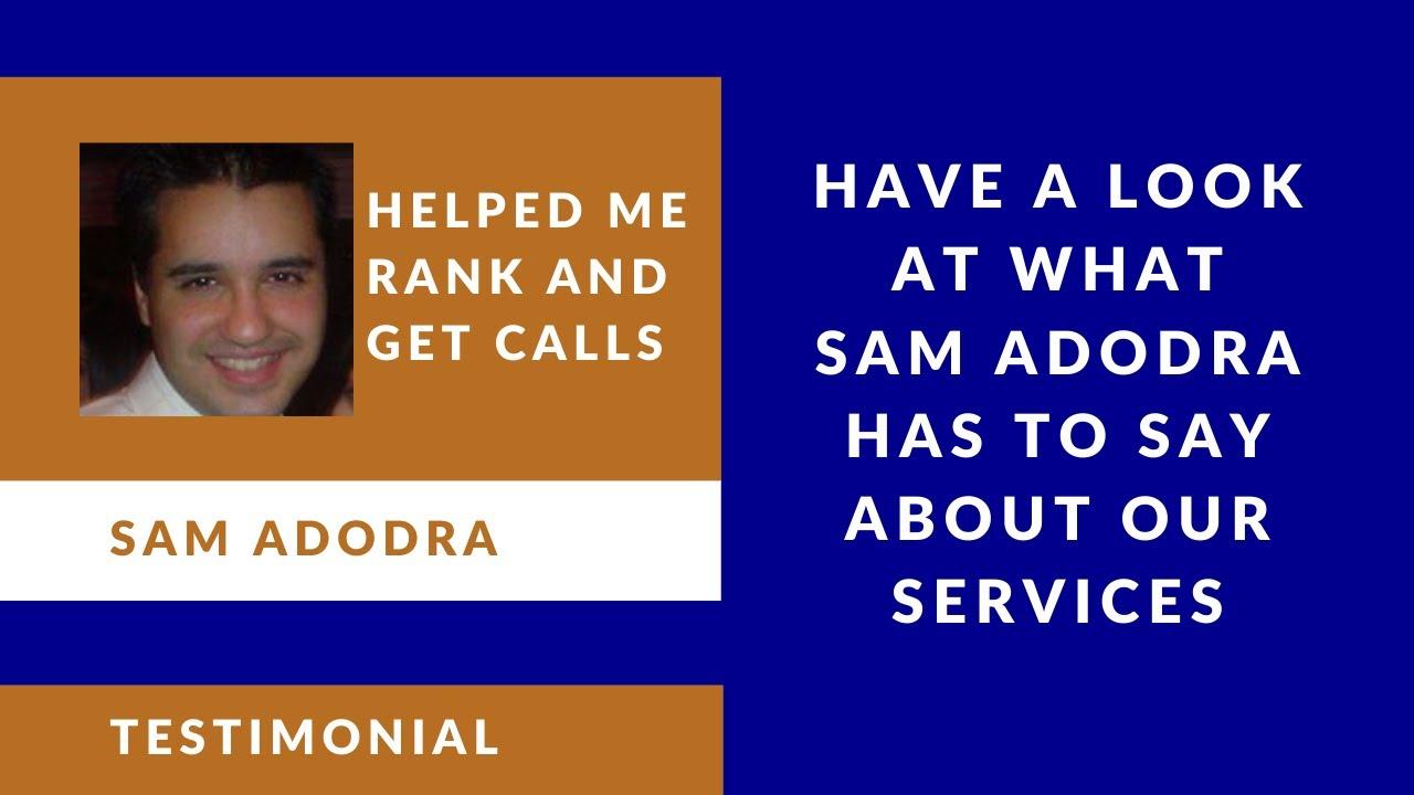 Download Latesh Bayad SEO | Sam Adodra Testimonial
