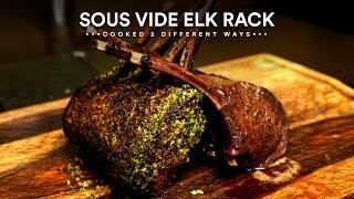 Sous Vide ELK 2 Ways - How to cook ELK!