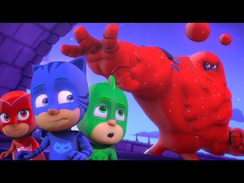 The Splat Monster   TRIPLE EPISODE   PJ Masks Official