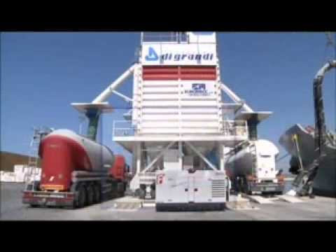 MOBILE SILOS FOR CEMENT STORAGE AND UNLOADING   YouTube