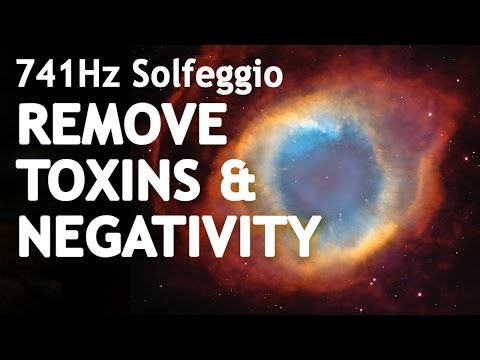 SOLFEGGIO 741 Hz ⧊ REMOVE TOXINS & NEGATIVITY ⧊ Sleep Meditation Music | Solfeggio Frequencies