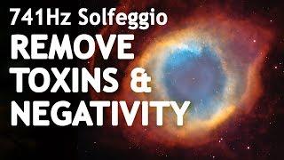 SOLFEGGIO 741 Hz ⧊ REMOVE TOXINS & NEGATIVITY ⧊ Sleep Meditation Music | Solfeggio Frequencies