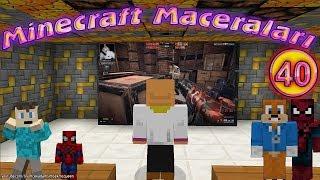 Örümcek Bebek Minecraft'ta Şaptal ile Karşılaşıyor Minecraft Maceraları 40. Bölüm