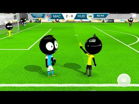 Stickman Soccer 2018 #2 | Android Gameplay | Friction Games