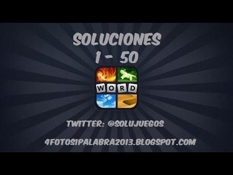 4 fotos 1 palabra | Nivel 1 - 50 Actualización 2013 SOLUCIONES