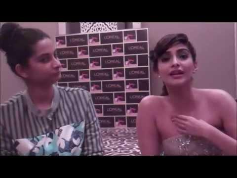 Actress, Sonam Kapoor & her sister/fashion stylist Rhea Kapoor talk Street Style on BandraRoad Mp3