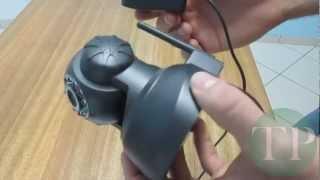 Aprenda a instalar Câmeras de Segurança - Camera Ip Wireless Com Microfone, Night vision Motor