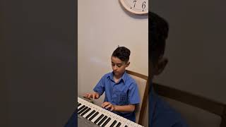 Amir plays the keyboard!