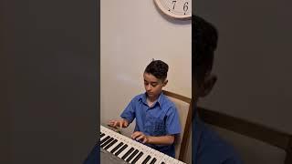 Amir plays the keyboard!