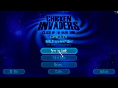 Chicken Invaders 5 Cluck Of The Dark Side Modded, Free Download