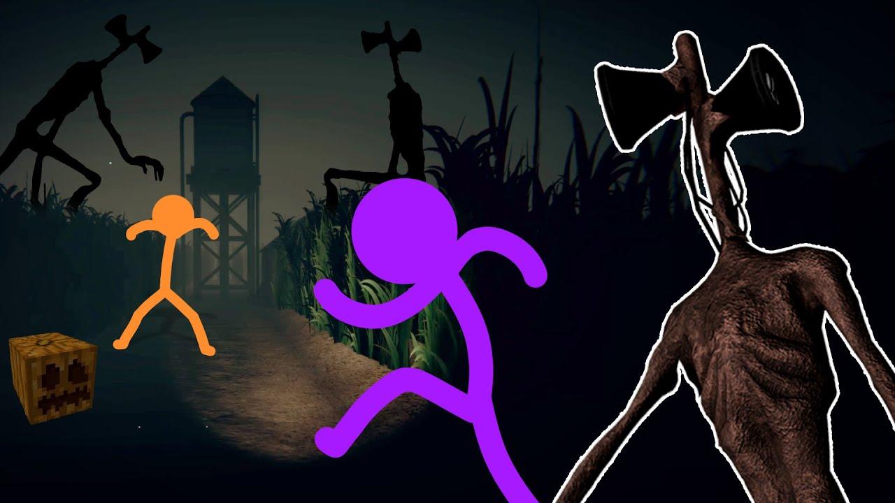 Siren Head Field | Halloween Spoopy Special