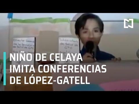 Niño imita las conferencias de López-Gatell - En Punto