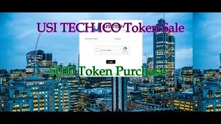 USI Tech London 2017 Update ICO Release New Site Features - 5000 Token Purchase