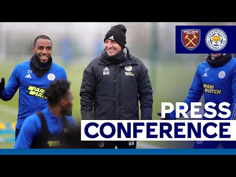 'An Important Game' - Brendan Rodgers | West Ham United vs. Leicester City