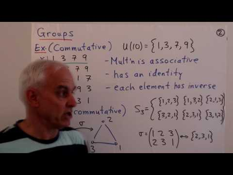 An introduction to abstract algebra | Abstract Algebra Math Foundations 213 | NJ Wildberger