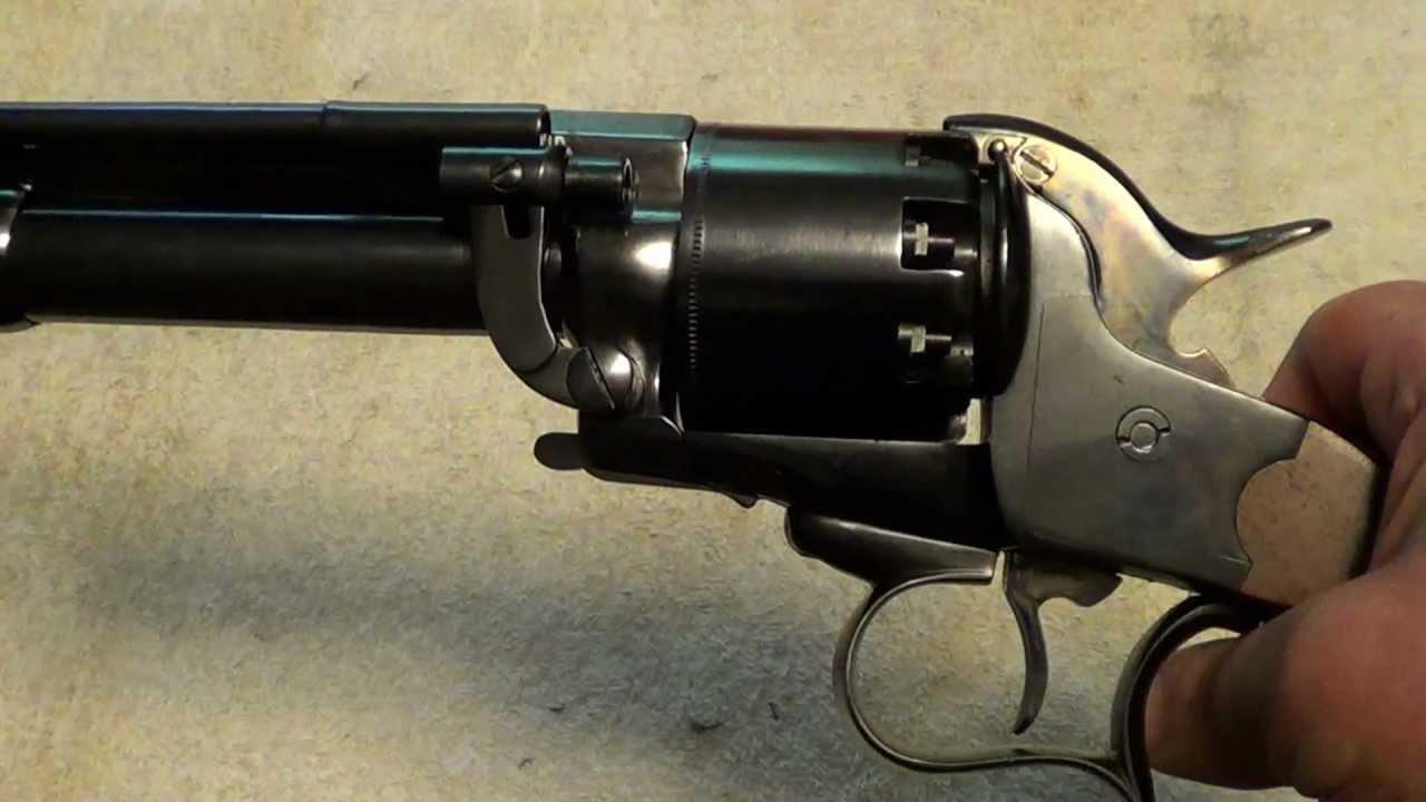 LeMat percussion revolver  44 & 20ga