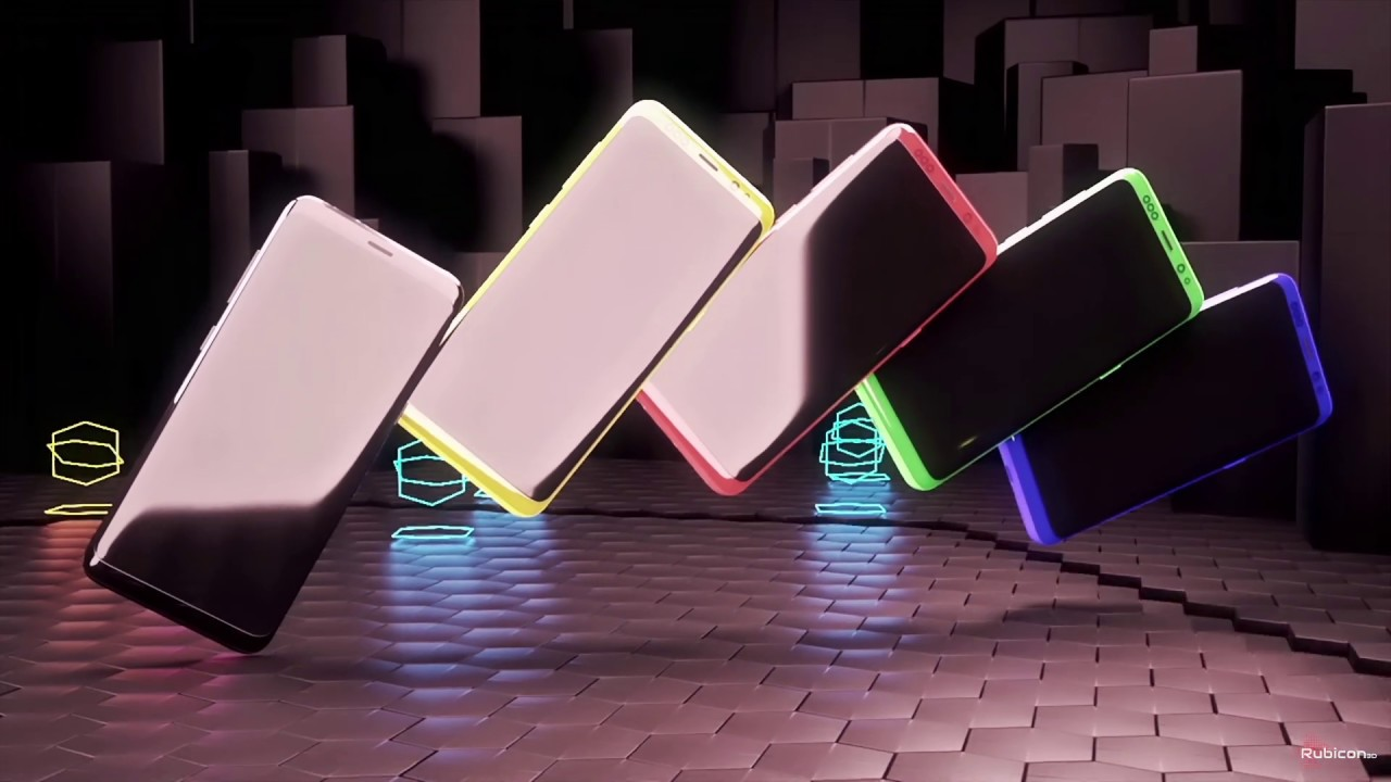 3D motion graphic phones | Product animation
