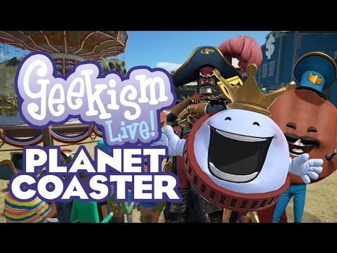 🔴 Building our Planet Coaster Community Park! | Live Stream Archive
