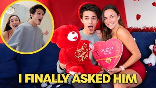 I GOT A VALENTINE!! (shocking i know)